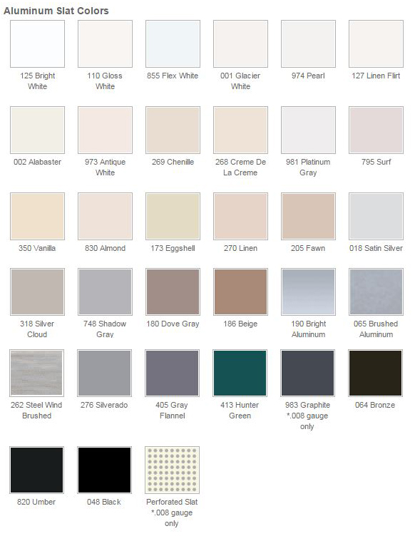 Hunter Douglas Colors Commercial Drapes And Blinds