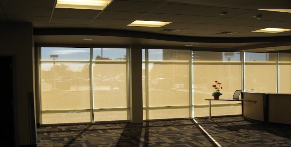 Mechoshade Commercial Drapes And Blinds