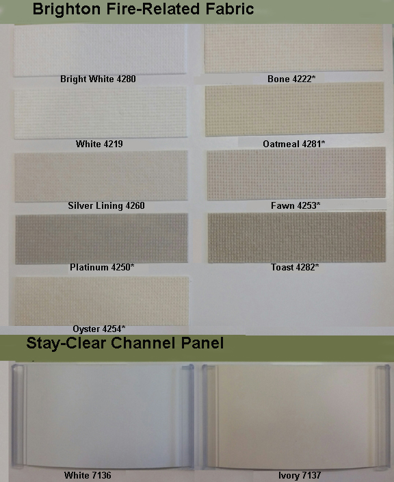 Vertical Blinds Color Chart Commercial Drapes And Blinds