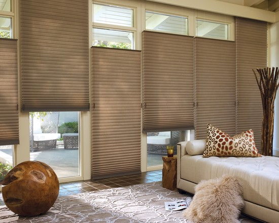 The Latest Innovation From Hunter Douglas Is Architella Honeycomb Shades Offering Greater Energy Efficiency Sound Absorption And A Radiant Color